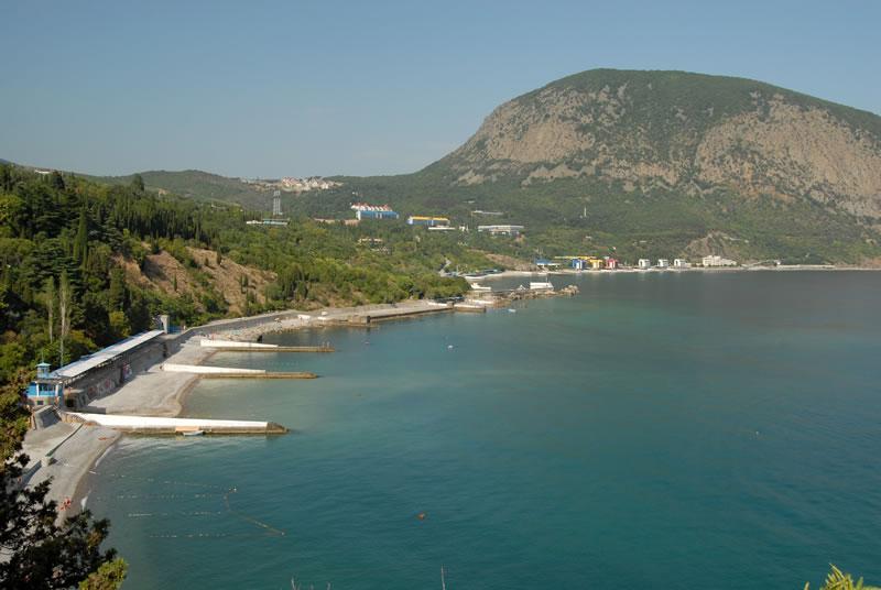 Фото берега Артека