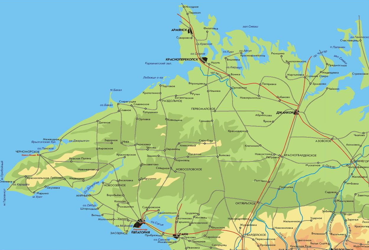 крым беляус фото на карте
