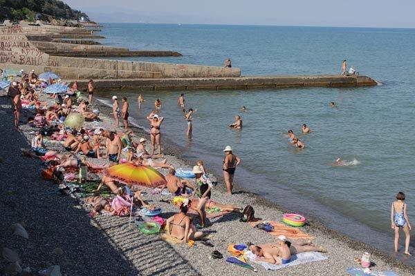 Новые фото с пляжа крым