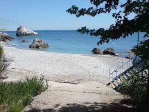 Пляж  посёлок Санаторный